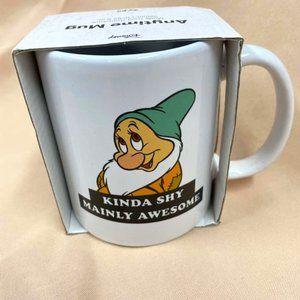 TYPO DISNEY Snow White Dwarfs Anytime Mug NWT